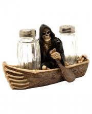 Salz & Pfefferstreuer - Grim Reaper im Boot
