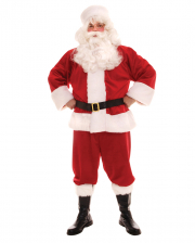 5-piece Santa Claus Costume With Plush