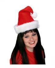 Santa Claus Mütze Royal mit Plüschrand