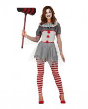 Sassy Clown Damen Kostüm für Erwachsene