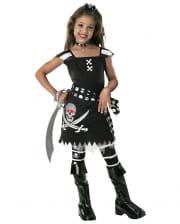 Scarlett Gothic Pirates Children Costume L