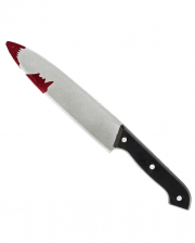 Slaughtering Knife With Blood Splatter
