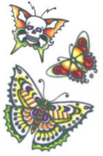 Butterfly Tattoo Sticker