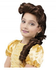 Fairy Princess Child Wig Brown