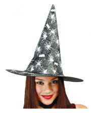 Witch hat with spider motif