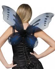 Elfen Flügel schwarz
