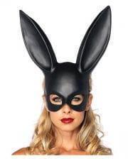 Schwarze Hasenmaske