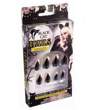 Black Cats Fingernails
