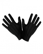 Schwarze Kostüm Handschuhe Unisex