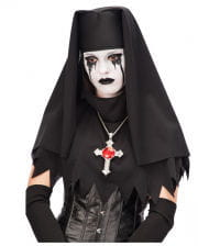 Black nun headgear