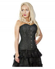 Burleska Versatile Full Breasted Corset Black