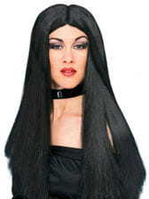 Long Hair Witch Wig Black
