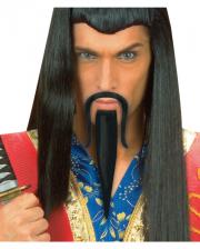 Dschinghis Khan Bart schwarz