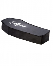 Black Foldable Halloween Coffin 150 Cm