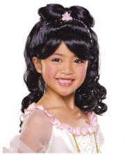 Child Wig Princess Black