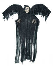 Black Reaper With Wings
