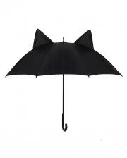 Black Umbrella With Cat Ears