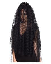 Black Widow Lace Veil