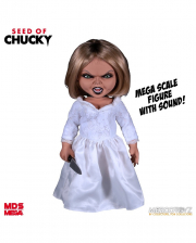 Seed Of Chucky Talking Tiffany Figure 38cm