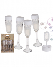 Sektglas Seifenblasen 4 St.