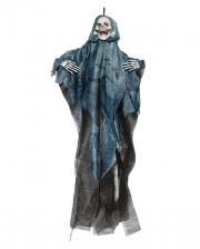 Sensenmann Hängefigur mit blauer Kutte