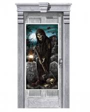 Grim Reaper Door Decoration 165 Cm