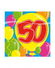 Napkins balloon 50