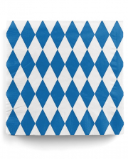 Napkins Bavaria with diamonds 20 pcs.
