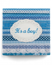 Servietten It's a Boy Blau 20 St.