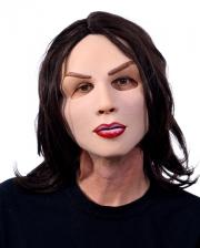 Sexy Brünette Maske