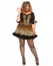 Sexy Leopard Plus Size Kostüm