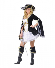 Sexy Musketeer Ladies Costume