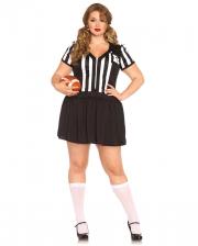 Sexy Schiedsrichterin Plus Size Kostüm