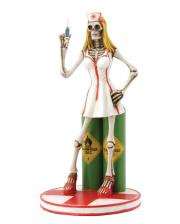 Sexy Skeleton Nurse Figurine 22cm