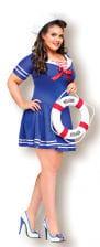 Sexy Sailor Girl Costume XL
