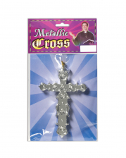 Monk Cross Silver