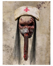 Silent Nurse Horror Mask