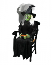 Sitting Witch With Snap Head