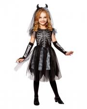 Skeledev Bride Children Costume