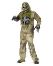 Skeleton Zombie 3D Deluxe Kostüm