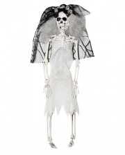 Skeleton Bride With Veil 40cm