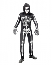 Schauriger Skelett Overall für Kinder
