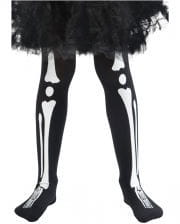 Skeleton children's tights