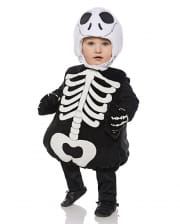 Skeleton toddler costume