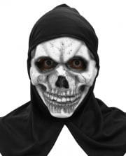 Skeleton Mask With Hood