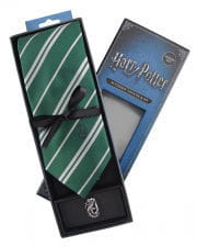 Harry Potter Slytherin Tie With Pin