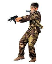 Soldaten Kinder Kostüm Uniform