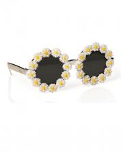 Sonnenbrille mit Margeriten