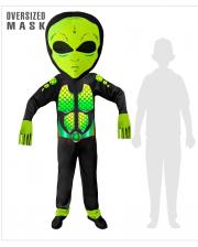 Space Alien Overall Child Costume