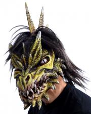 Spike Drachenmaske mit beweglichem Kiefer
